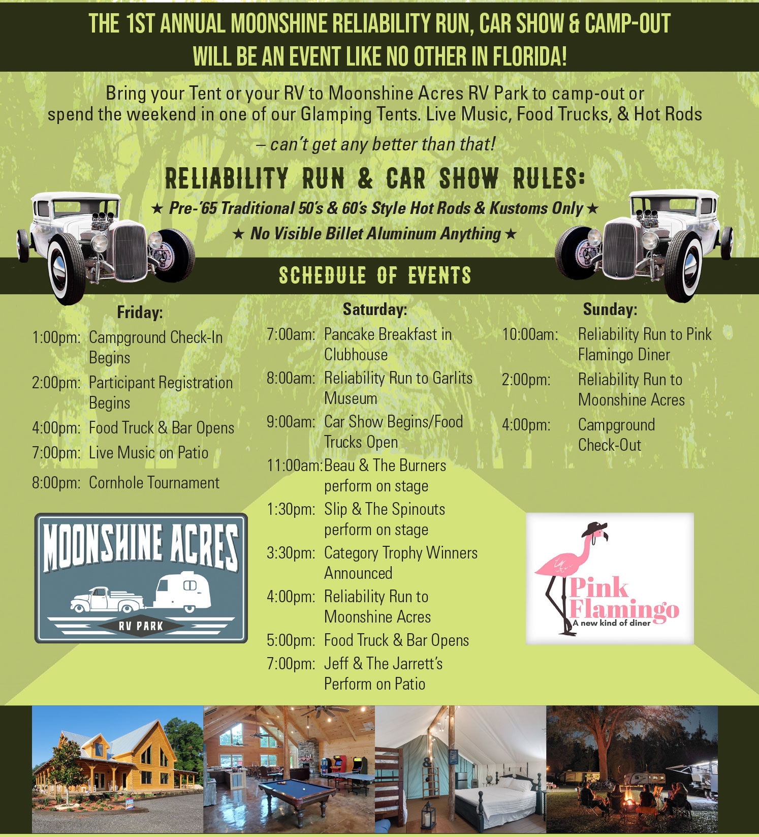 Moonshine Reliability Run Car Show & Camp Out